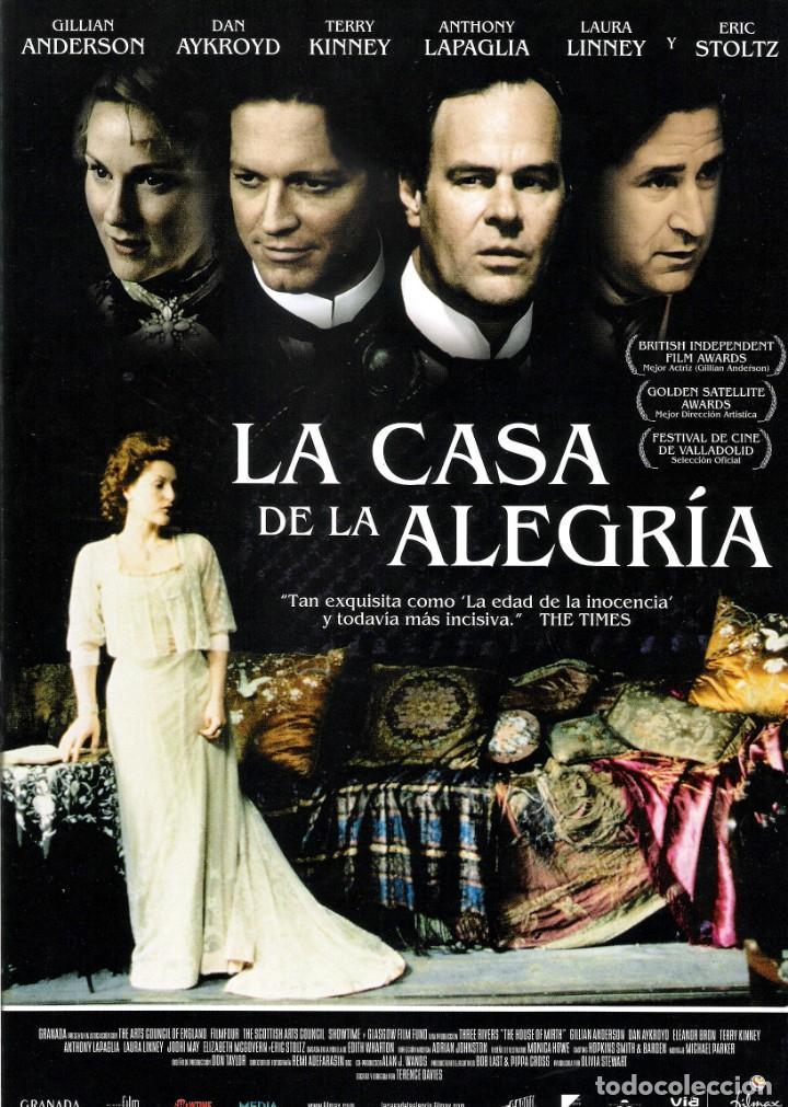 GUIA ORIGINAL DOBLE (LA CASA DE LA ALEGRIA) (Cine - Guías Publicitarias de Películas )