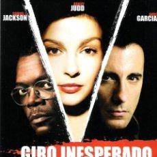 Cine: GUIA ORIGINAL DOBLE (GIRO INESPERADO). Lote 139392018