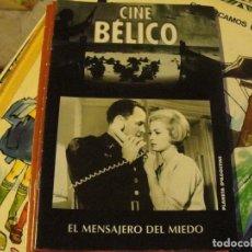 Cine: CUADERNILLO CINE BÉLICO / EL MENSAJERO DEL MIEDO - SINATRA / SIN USAR ENVIO GRATIS. Lote 139641134