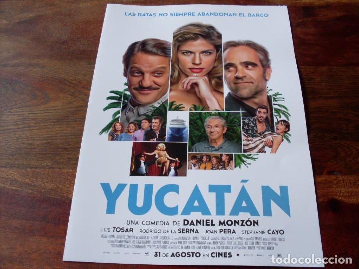 YUCATAN - LUIS TOSAR, RODRIGO DE LA SERNA, STEPHANIE CAYO, JOAN PERA - GUIA ORIGINAL FOX 2018 (Cine - Guías Publicitarias de Películas )