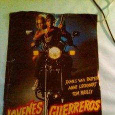 Cine: GUIA PUBLICITARIA - JOVENES GUERREROS (1983). . Lote 139983134