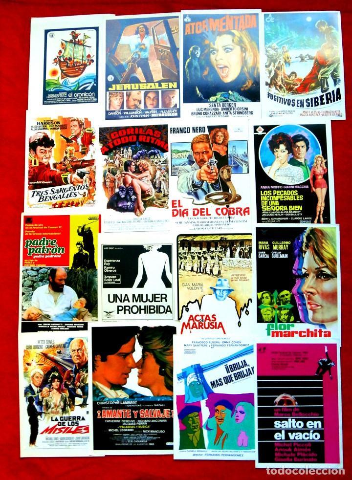 Cine: 100 GUÍAS DE CINE ORIGINALES LA MAYORÍA IMPECABLES - Foto 2 - 139995382