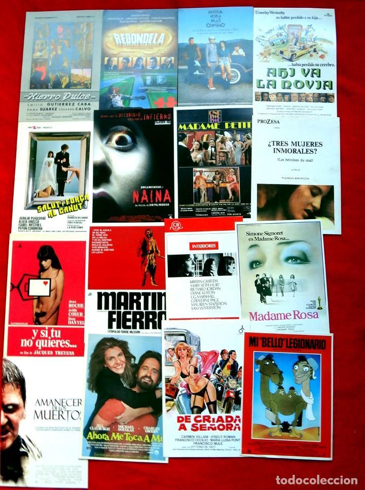Cine: 100 GUÍAS DE CINE ORIGINALES LA MAYORÍA IMPECABLES - Foto 3 - 139995382