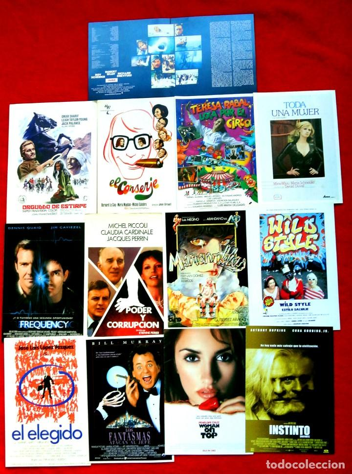 Cine: 100 GUÍAS DE CINE ORIGINALES LA MAYORÍA IMPECABLES - Foto 4 - 139995382