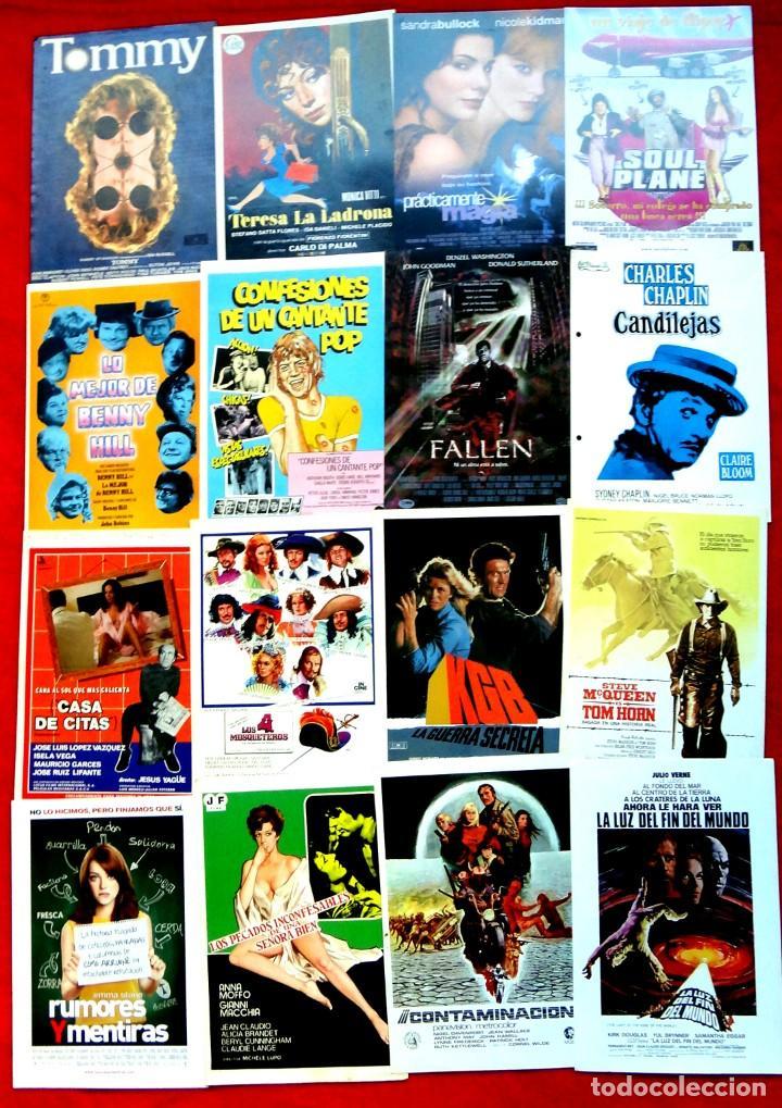 Cine: 100 GUÍAS DE CINE ORIGINALES LA MAYORÍA IMPECABLES - Foto 5 - 139995382