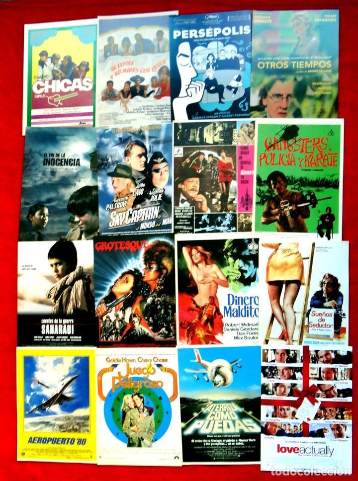 Cine: 100 GUÍAS DE CINE ORIGINALES LA MAYORÍA IMPECABLES - Foto 6 - 139995382