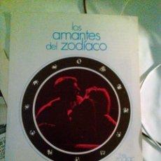 Cine: GUIA PUBLICITARIA - LOS AMANTES DEL ZODIACO (1978). . Lote 140000134