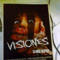 Cine: GUIA PUBLICITARIA - VISIONES 13 AÑOS DESPUES (1981). . Lote 140001482
