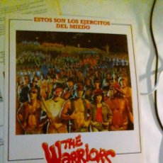 Cinema: GUIA PUBLICITARIA - THE WARRIORS (1979). . Lote 140001642