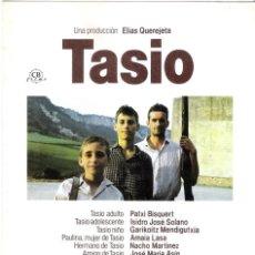 Cine: GUIA PUBLICITARIA ORIGINAL DOBLE (TASIO). Lote 140370702