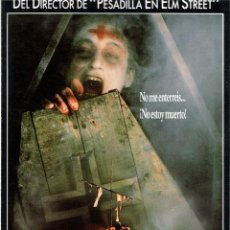 Cine: GUIA PUBLICITARIA ORIGINAL DOBLE (LA SERPIENTE Y ARCO IRIS). Lote 140371282