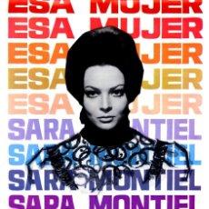 Cine: ESA MUJER (GUÍA ORIGINAL SIMPLE) SARA MONTIEL - IVAN RASSIMOV. Lote 140601302