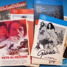 Cine: COLECCION DE 43 GUIAS DIFERENTES DE AÑOS 1960-70-80 - VER DESCRIPCION Y FOTOS ADICIONALES. Lote 158563393