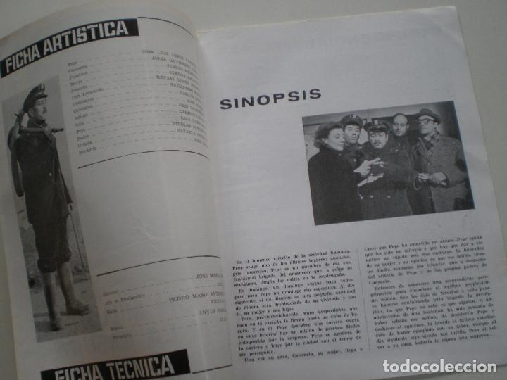 Cine: UN MILLON EN LA BASURA - GUIA PUBLICITARIA CB FILMS 1967 // JOSE MARIA FORQUE LUIS LOPEZ VAZQUEZ - Foto 2 - 143381866
