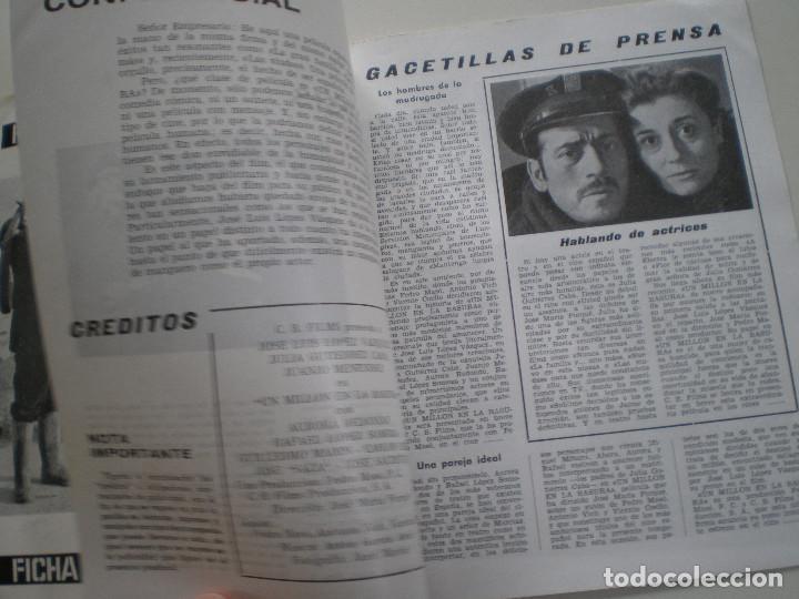 Cine: UN MILLON EN LA BASURA - GUIA PUBLICITARIA CB FILMS 1967 // JOSE MARIA FORQUE LUIS LOPEZ VAZQUEZ - Foto 3 - 143381866