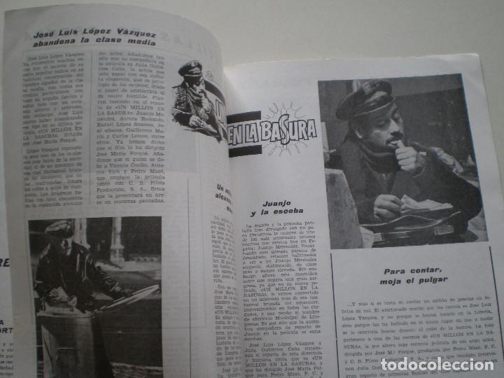 Cine: UN MILLON EN LA BASURA - GUIA PUBLICITARIA CB FILMS 1967 // JOSE MARIA FORQUE LUIS LOPEZ VAZQUEZ - Foto 4 - 143381866