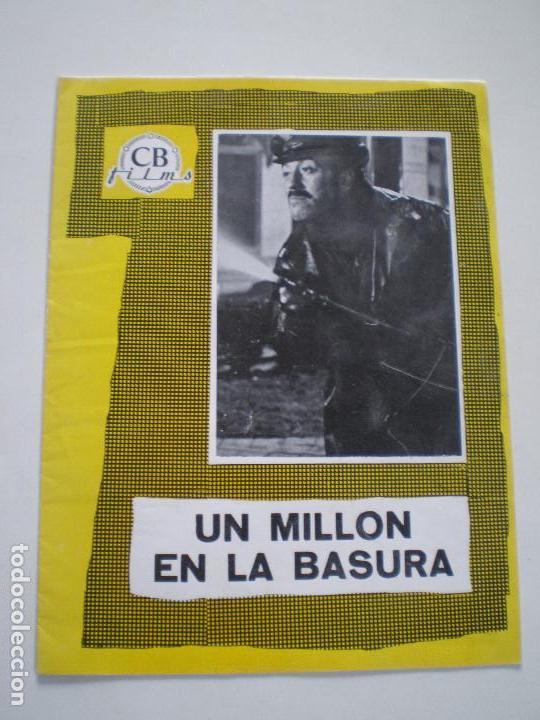 UN MILLON EN LA BASURA - GUIA PUBLICITARIA CB FILMS 1967 // JOSE MARIA FORQUE LUIS LOPEZ VAZQUEZ (Cine - Guías Publicitarias de Películas )