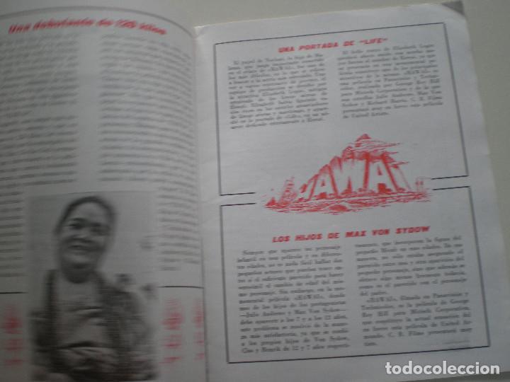 Cine: HAWAI - GUIA PUBLICITARIA CB FILMS 1966// JULIE ANDREWS RICHARD HARRIS MAX VON SYDOW George Roy Hill - Foto 4 - 143386830