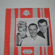 Cine: EN BANDEJA DE PLATA -GUIA CB FILMS 1966// BILLY WILDER JACK LEMMON WALTER MATTHAU THE FORTUNE COOKIE. Lote 143391206