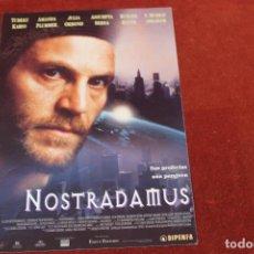 Cine: NOSTRADAMUS, SUS PROFECIAS AÚN PERVIVEN, CON ASSUMPTA SERNA. Lote 143393174