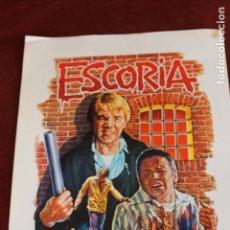 Cine: ESCORIA, CARTEL. Lote 143393282