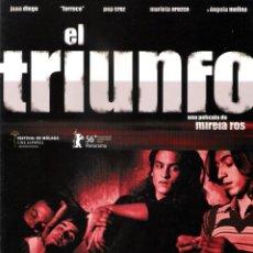 Cine: GUÍA ORIGINAL DOBLE (EL TRIUNFO). Lote 143641698