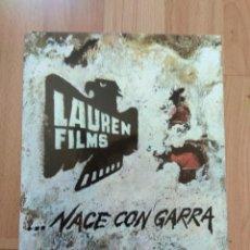 Cinéma: F--GUIA CATALOGO LISTA MATERIAL NACE LAUREN FILMS. Lote 144392486