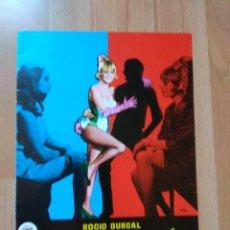 Cinéma: G--LISTA DE MATERIAL LAMINA ORIGINAL SUEVIA FILMS 4 GUIAS. Lote 146132950
