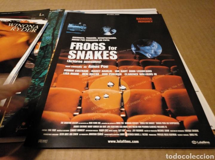 Cine: 19 guias dobles originales de cine 19 guía doble ver fotos - Foto 10 - 146308836