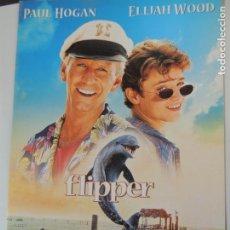 Cine: FLIPPER - GUIA ORIGINAL USA - PAUL HOGAN ELIJAH WOOD DELFIN DOLPHIN . Lote 146371598