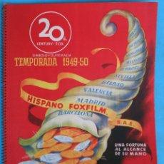 Cine: GUIA CATALOGO 20 TH CENTURY FOX , TEMPORADA 1949 1950 , VER FOTOS , ORIGINAL. Lote 146408922