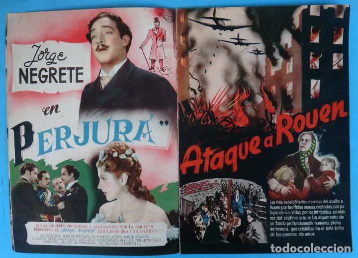 Cine: GUIA CATALOGO REY SORIA FILMS , TEMPORADA 1945 1946 , VER FOTOS , ORIGINAL - Foto 3 - 146409250