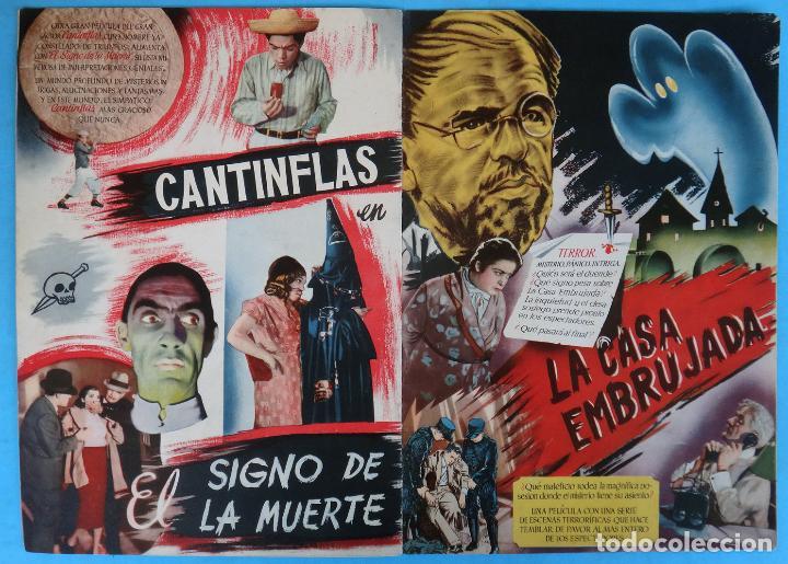 Cine: GUIA CATALOGO REY SORIA FILMS , TEMPORADA 1945 1946 , VER FOTOS , ORIGINAL - Foto 7 - 146409250