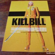 Cine: KILL BILL 1 - UMA THURMAN,LUCY LIU,DARYL HANNAH - DIR.QUENTIN TARANTINO - GUIA ORIGINAL MIRAMAX 2003. Lote 176861080