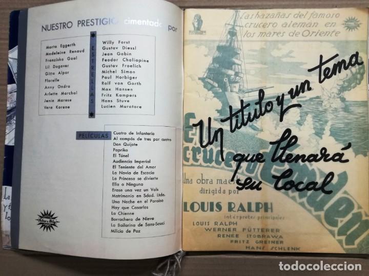 Cine: GRAN CATALOGO DE CINE 1934-1935.BAVARIA FILM.18 PELICULAS BUEN ESTADO MUY RARO.VER FOTOS - Foto 3 - 146992114