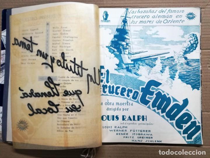 Cine: GRAN CATALOGO DE CINE 1934-1935.BAVARIA FILM.18 PELICULAS BUEN ESTADO MUY RARO.VER FOTOS - Foto 4 - 146992114