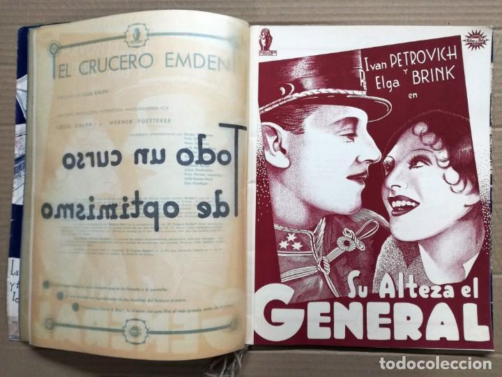 Cine: GRAN CATALOGO DE CINE 1934-1935.BAVARIA FILM.18 PELICULAS BUEN ESTADO MUY RARO.VER FOTOS - Foto 5 - 146992114