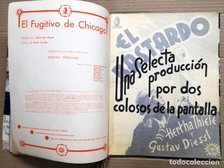 Cine: GRAN CATALOGO DE CINE 1934-1935.BAVARIA FILM.18 PELICULAS BUEN ESTADO MUY RARO.VER FOTOS - Foto 7 - 146992114
