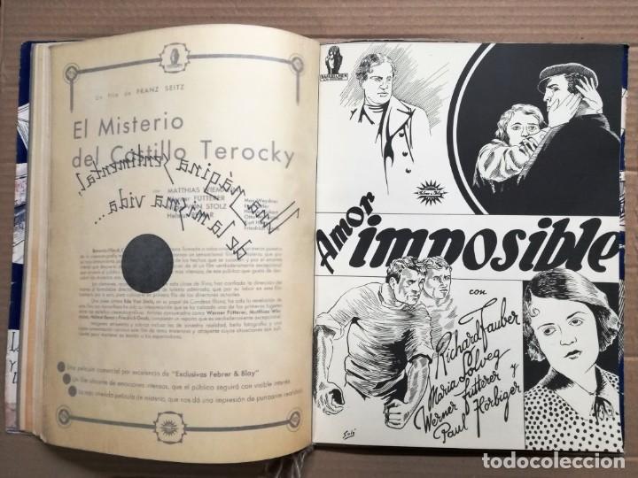 Cine: GRAN CATALOGO DE CINE 1934-1935.BAVARIA FILM.18 PELICULAS BUEN ESTADO MUY RARO.VER FOTOS - Foto 13 - 146992114