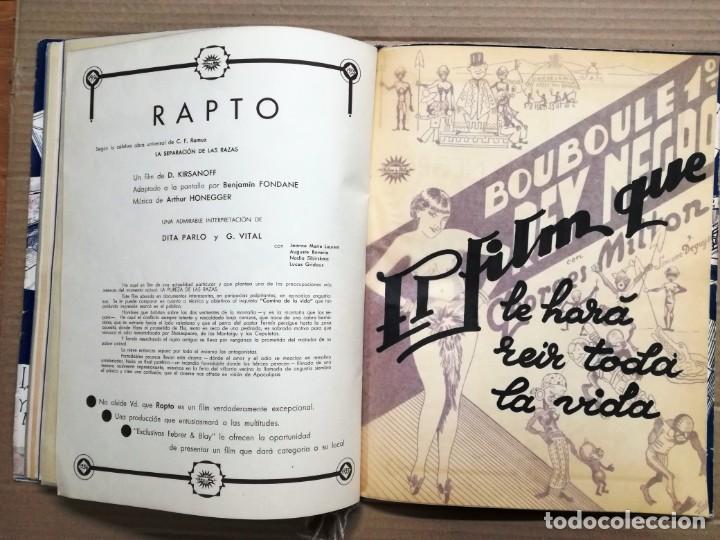 Cine: GRAN CATALOGO DE CINE 1934-1935.BAVARIA FILM.18 PELICULAS BUEN ESTADO MUY RARO.VER FOTOS - Foto 16 - 146992114