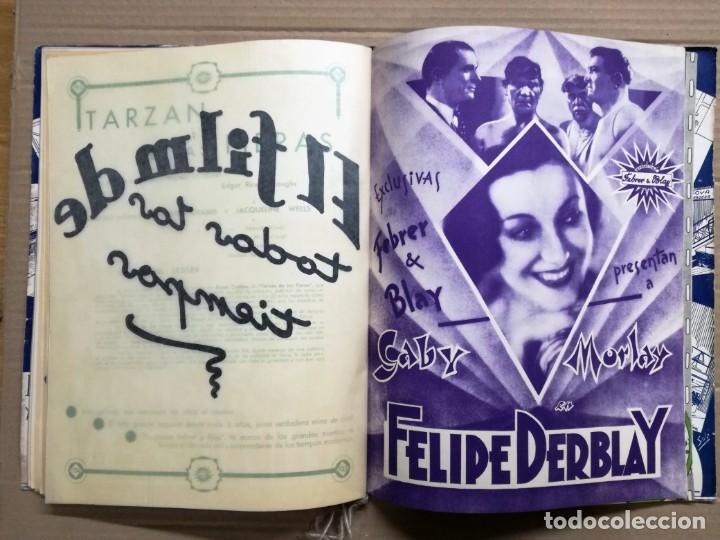 Cine: GRAN CATALOGO DE CINE 1934-1935.BAVARIA FILM.18 PELICULAS BUEN ESTADO MUY RARO.VER FOTOS - Foto 21 - 146992114