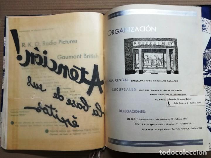 Cine: GRAN CATALOGO DE CINE 1934-1935.BAVARIA FILM.18 PELICULAS BUEN ESTADO MUY RARO.VER FOTOS - Foto 27 - 146992114