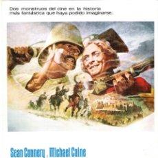 Cine: GUÍA ORIGINAL (EL HOMBRE QUE PUDO REINAR). Lote 147440946