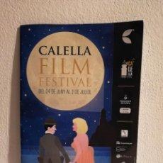 Cine: PROGRAMACION GUIA ORIGINAL - CALELLA FILM - FESTIVAL CINE - EN CATALAN. Lote 147551986