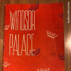Cine: GUIA WINDSOR PALACE LA VENTANA INDISCRETA GRACE KELLY JAMES STEWART.ALFRED HITCHCOCK. Lote 147835645