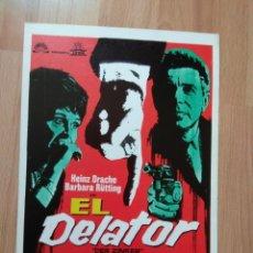Cine: GUIA DE LA PELICULA - - EL DELATOR. Lote 147898710