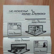 Cine: GUIA DE LA PELICULA - - EL DIA MAS LARGO. Lote 147899870