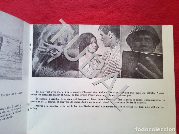 Cine: TUBAL 1972 CUADRÍPTICO FLEURS SAUVAGES YOUSSEF FRANCIS 8 PAGINAS - Foto 7 - 148482410