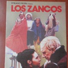 Cine: GUIA CINE 2 HOJAS: LOS ZANCOS SAURA LAURA DEL SOL ANTONIO BANDERAS FCO RABAL. Lote 148961928