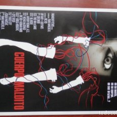 Cine: GUIA CINE 2 HOJAS: CUERPO MALDITO JEFF FAHEY LINDSAY DUNCAN. Lote 148961964